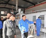 哈尔滨帽儿山暖气片分厂钢制车间正式投产